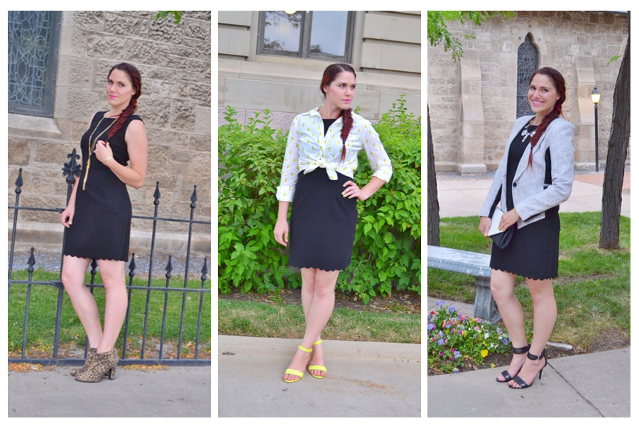 3 ways to wear a LBD