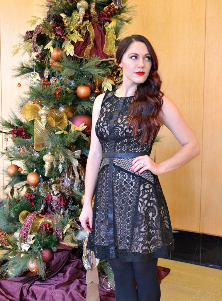 black-nude-lace-holiday-dress