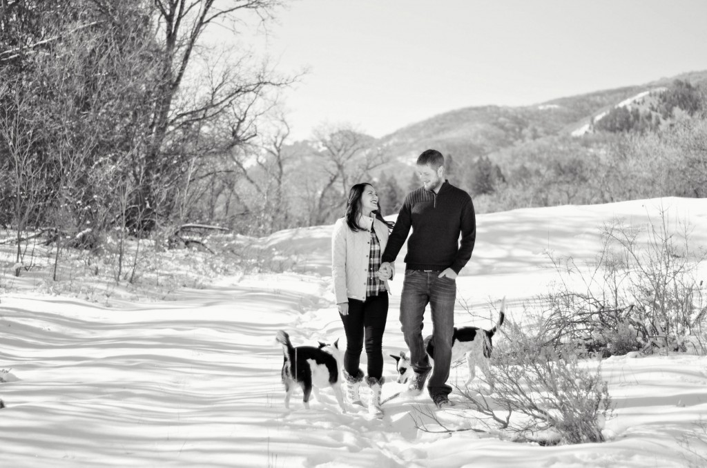 family photoshoot in the mountains