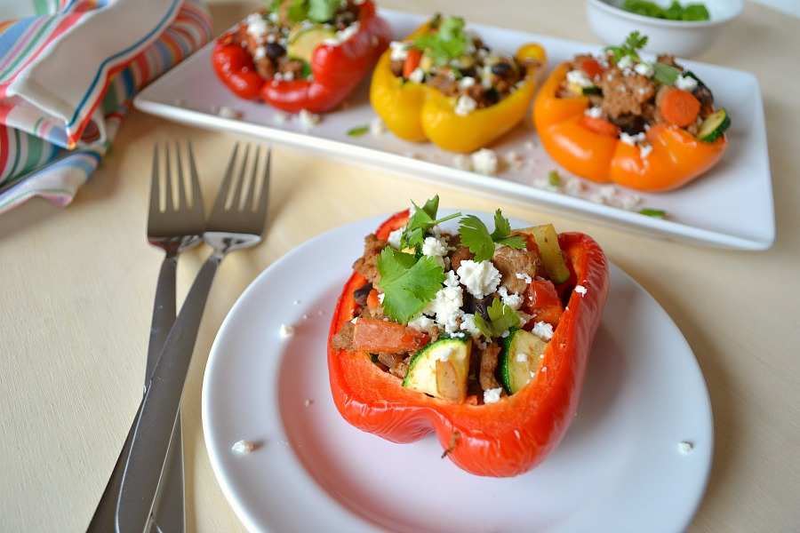 Mexican stuffed peppers perfect meal for any night of the week