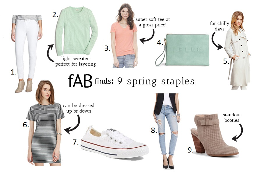 fAB finds: 9 spring staples every girl needs in her closet