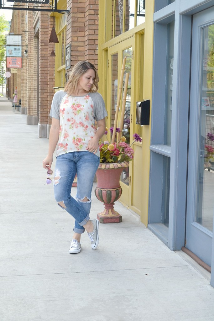 casual & comfy spring outfit