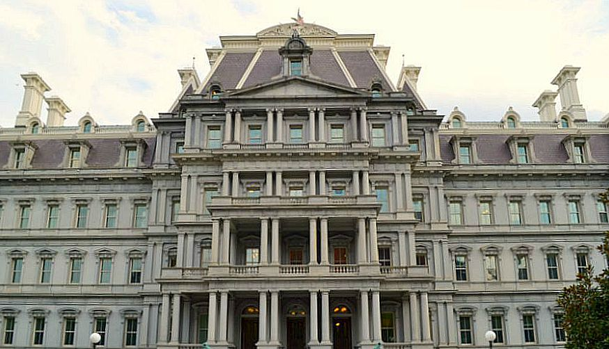 Eisenhower Executive Office Building in Washington D.C.