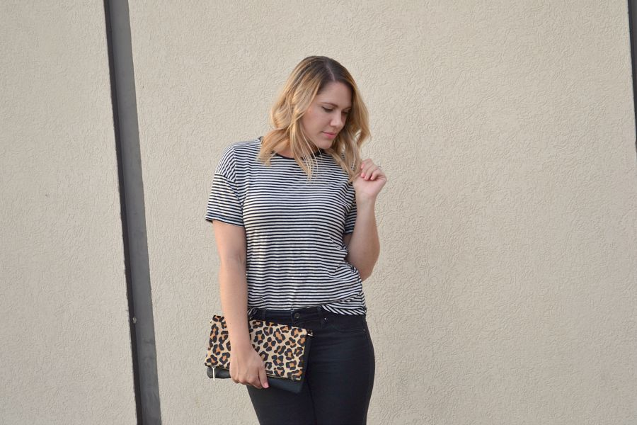 comfy striped tee