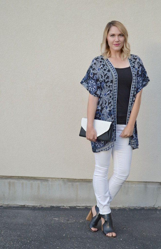 fall kimono- perfect for transitioning to fall