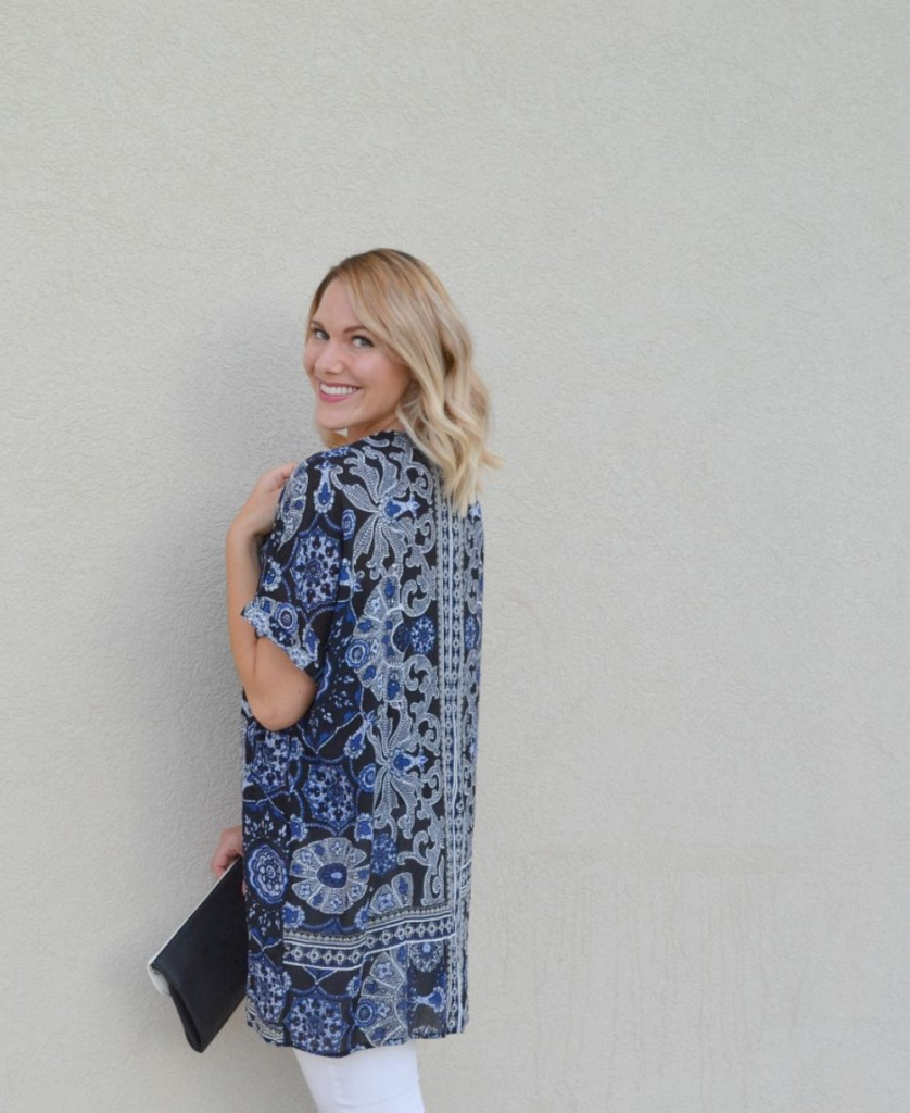 fall kimono from Forever 21