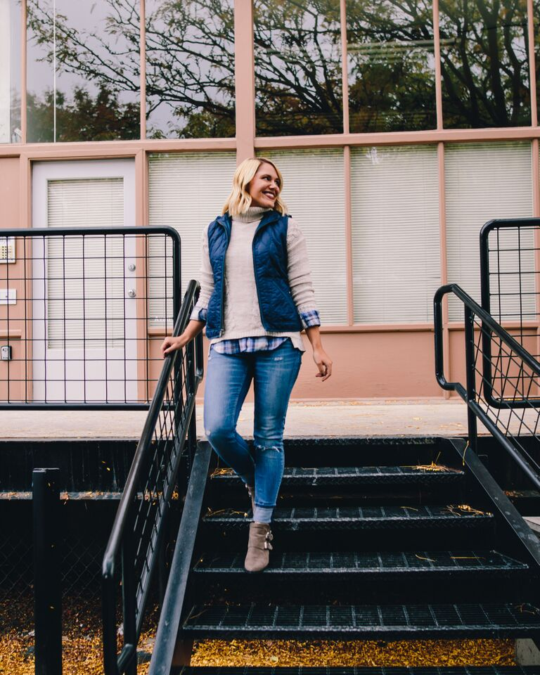 fall layers with Old Navy // thefabblog.com