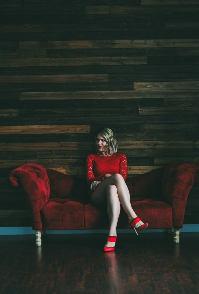 red lace romper // www.thefabblog.com