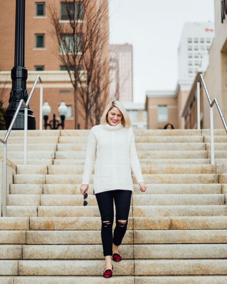 cozy winter outfit // www.thefabblog.com