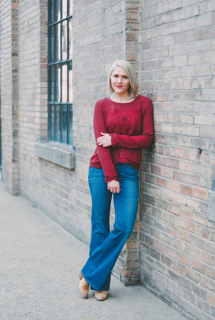 70's inspired outfit // www.thefabblog.com