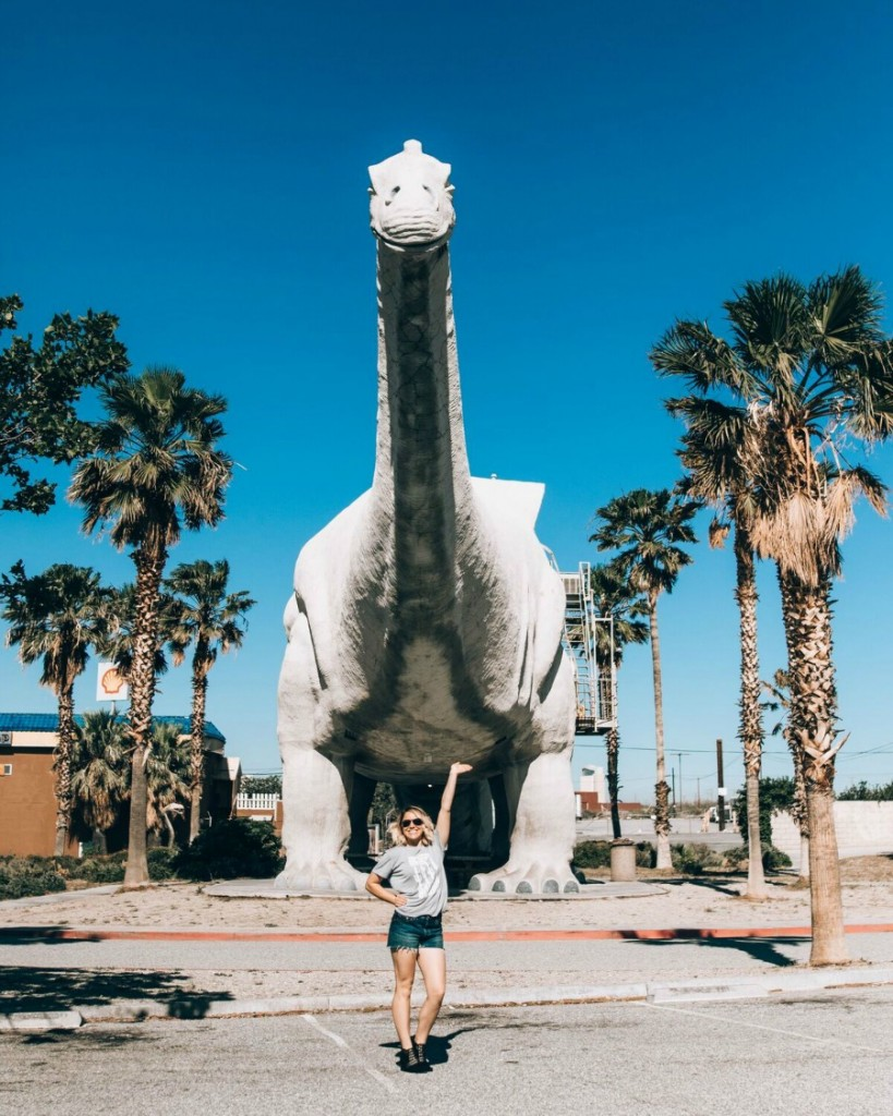 cabazon dinos on your way to Palm Springs // thefabblog.com