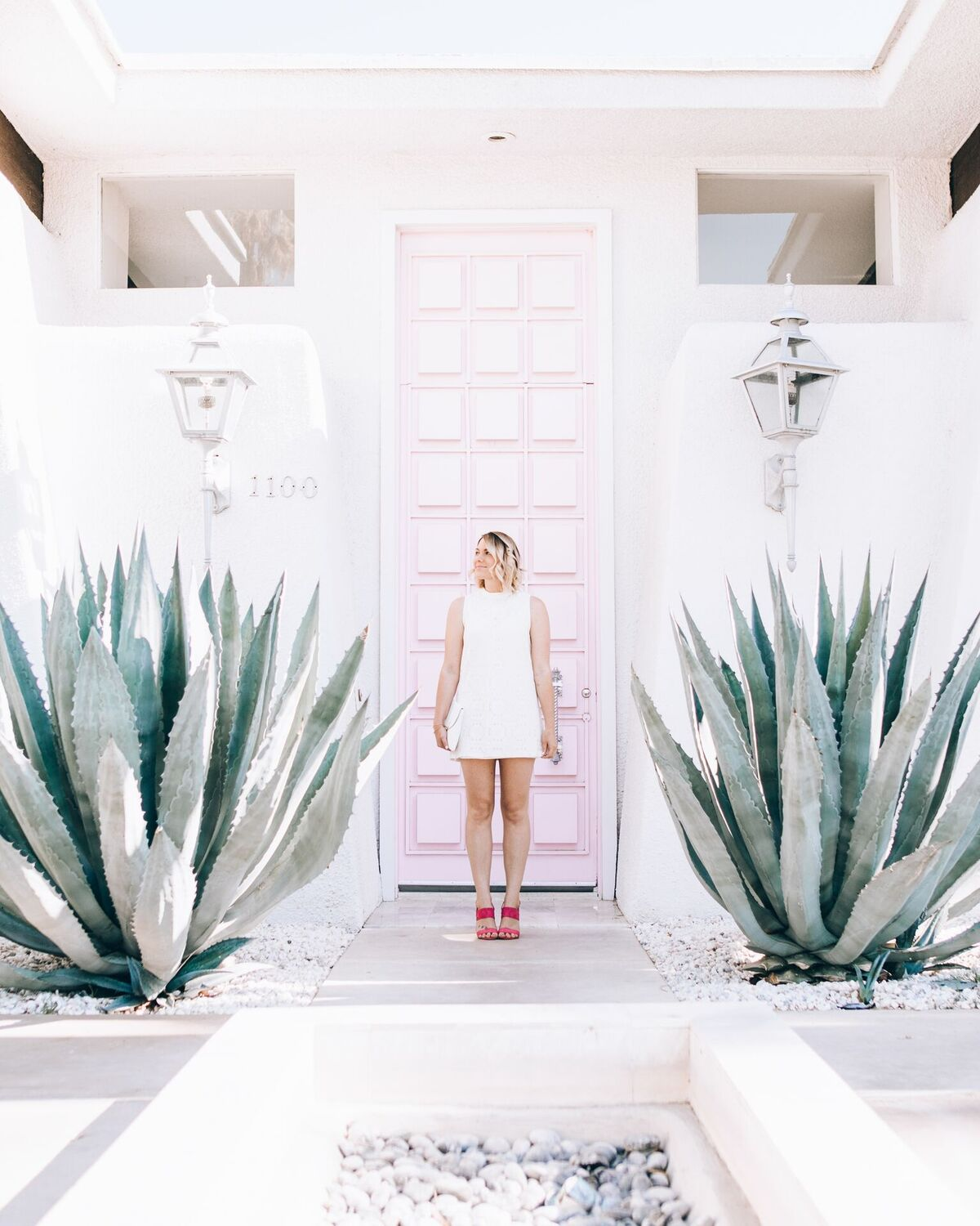 #thatpinkdoor in Palm Springs // www.thefabblog.com