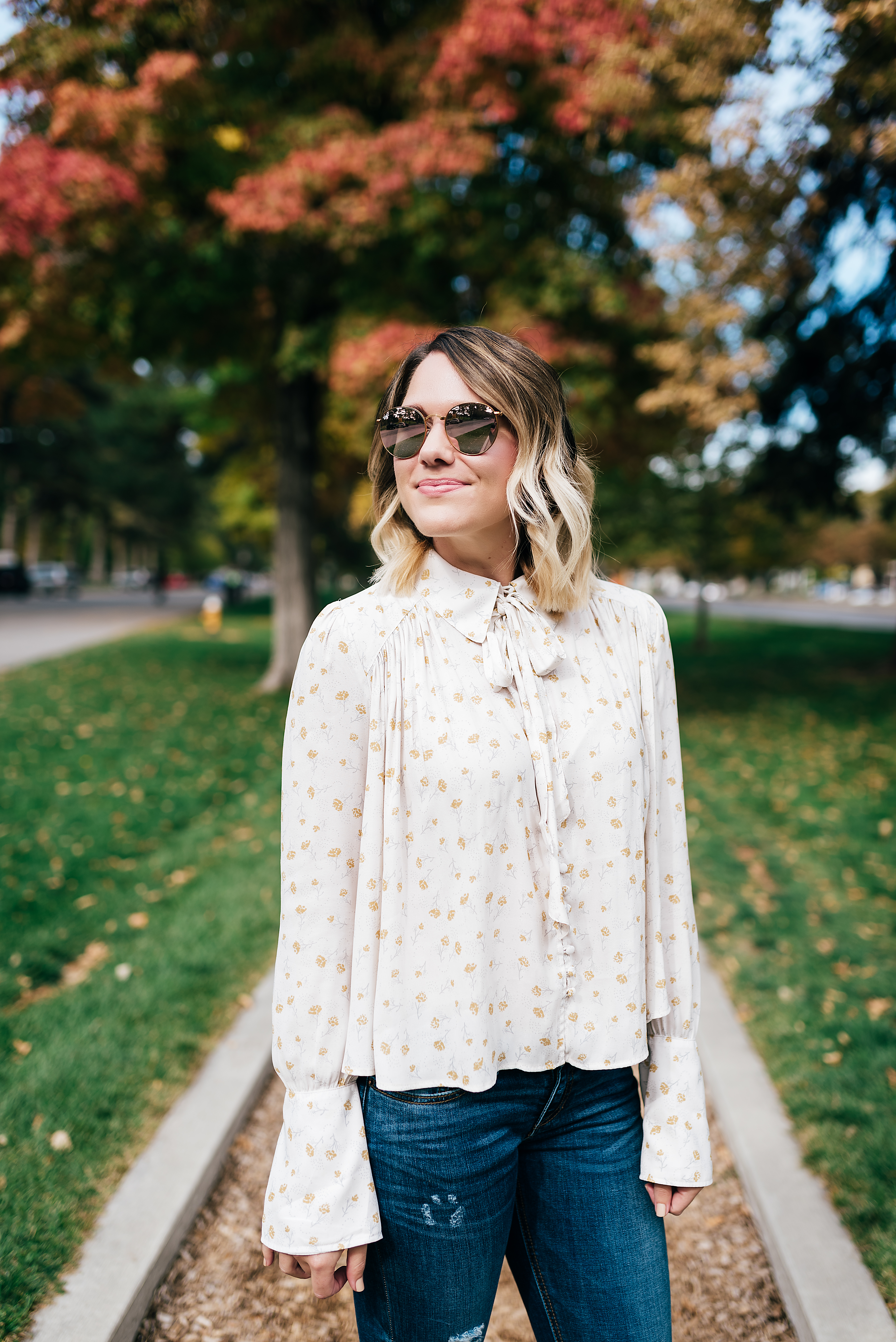 perfect fall blouse // www.thefabblog.com