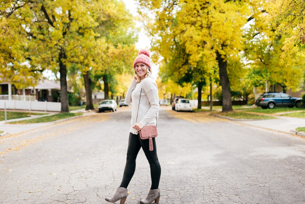 fall to winter transition outfit // www.thefabblog.com