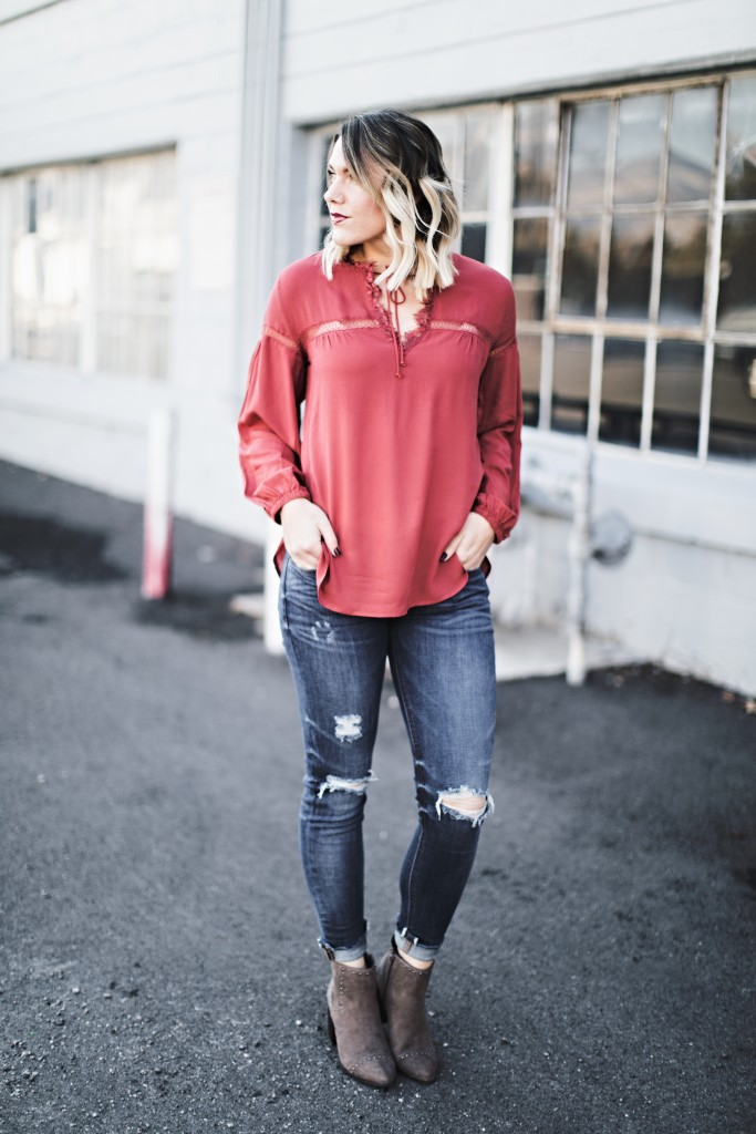 perfect fall outfit // www.thefabblog.com