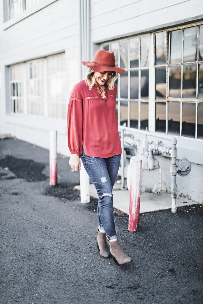 warm fall outfit // www.thefabblog.com