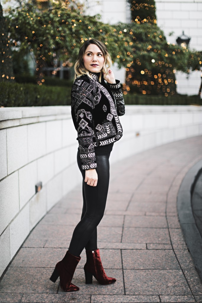 New Year's Eve outfit inspiration // www.thefabblog.com