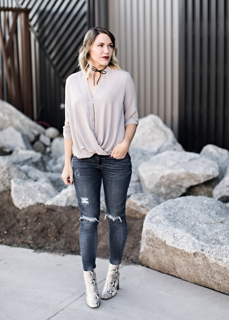 casual fall outfit // www.thefabblog.com
