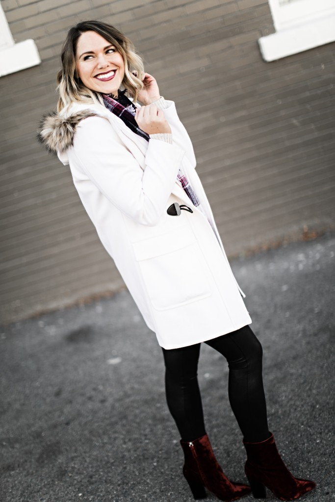 winter white coat // www.thefabblog.com