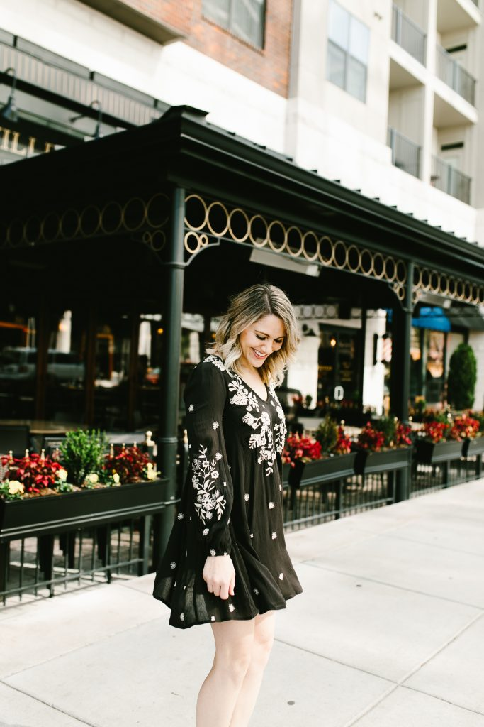gorgeous embroidered Free People dress // www.thefabblog.com