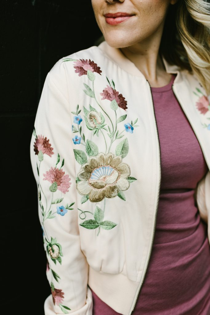 floral bomber // www.thefabblog.com