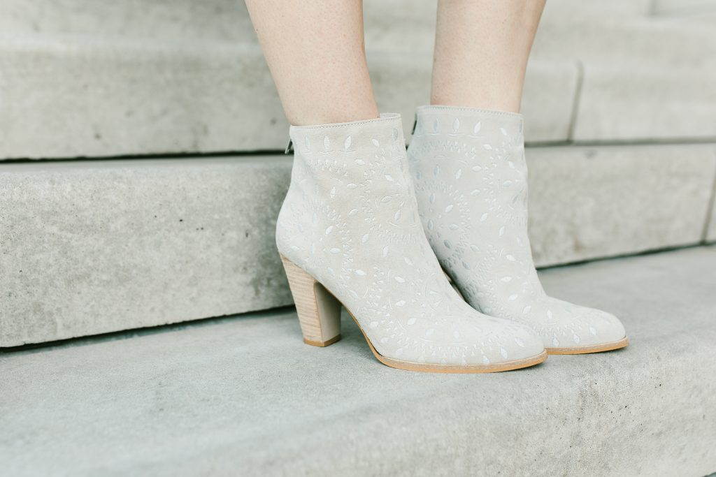 light booties for spring // www.thefabblog.com