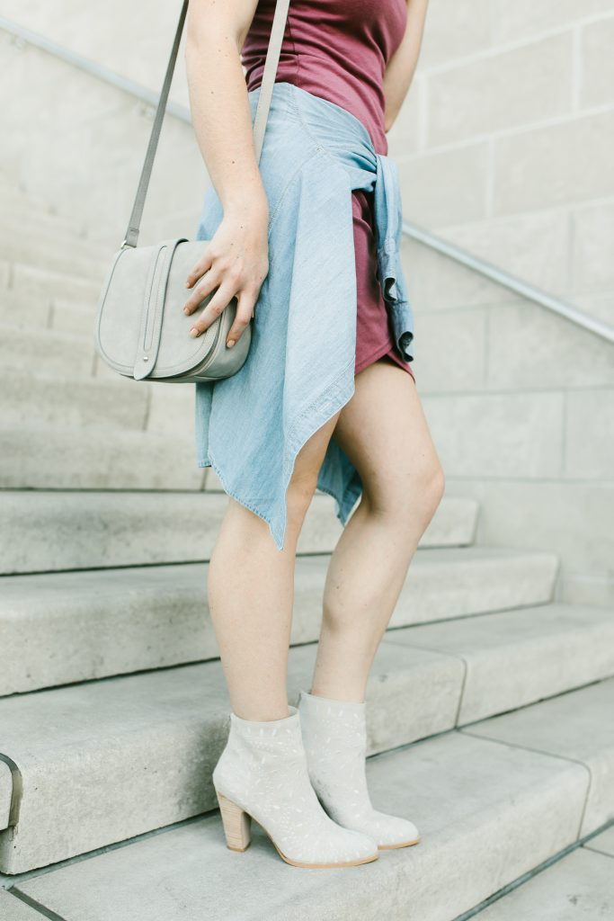 casual spring dress // www.thefabblog.com